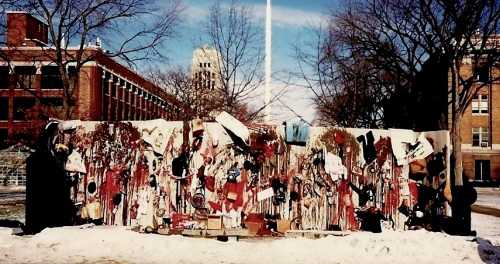 things that get destroyed by war, Ann Arbor, January-February 1991